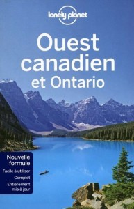 lonely planet ouest canadien